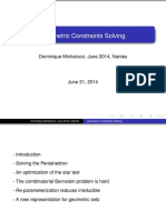 Geometric Constraint Solving
