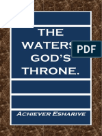 THE WATERS, GOD'S THRONE.