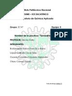 Practica 3 Quimica
