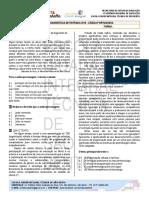 Modelo de Avaliação Diagnóstica