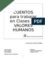 CUENTOS DE VALORES HUMANOS.doc