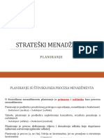 Planiranje u SM- 3