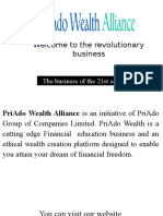 Earn Unlimited Income With Priado Wealth Alliance
