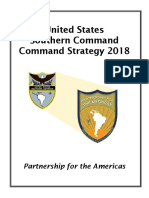 US Southern Command Strategy 2018