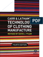 Carr n Latham's Technology of clothing manufacturing