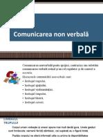 M1-Comunicarea Non Verbală