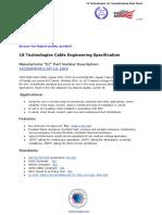2500 KCMIL Copper 15KV 133% EPR  MV-105 CTS - 1X Technologies Engineering PDF Spec