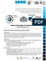 Instructivo TIED y EVV 2012 (Noviembre 2012)