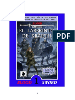El Laberinto de Krarth. (Blood Sword 1) v.1.0. Hipervínculos