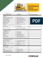 Safety & Maintenance Checklist Track Type Tractors (Esp).pdf