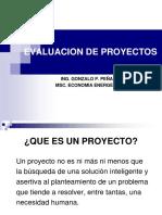 Evaluacion de Proyectos (Parte i)