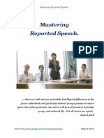 Mastering Reported Speech