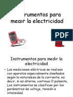 Formas de medir electricidad y sus instrumentos