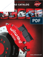 Wilwood Brake Pads - 2010 Catalog