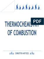 Thermochemistry of Combustion