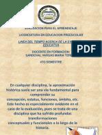 lineadeltiempoevaluacion-130217195706-phpapp02