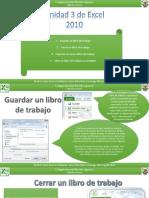 Unidad 3 Excel 2010