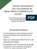 Interveción Dª Victoria Gallardo