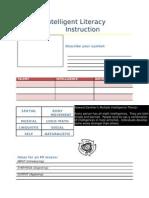 4-5-Multiple Intelligent Literacy Instruction