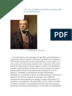 Georg Lukacs Las condiciones histórico-sociales del surgimiento de la novela histórica