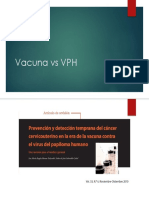Vacuna vs VPH