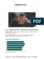 中国方便面销量下跌反映出什么变化?