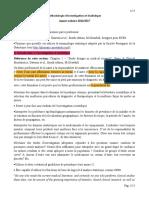 Cours Théorique 1 - INTRODUCTION STATISTIQUES