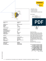 Datasheet Sensor Fotoelectrico