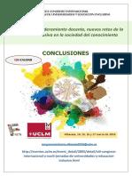 Conclusiones Xiii Congreso Internacional y Xxxiii Jornadas de Universidades y Educación Inclusiva 3 Junio (2)