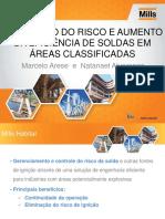 Eliminao Do Risco e Aumento Da Eficiencia de Soldas Em Areas Soldadas Classificadas