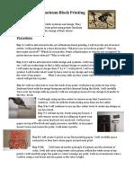 celtic lino block prints rubric