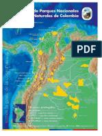 Mapas naturaleza colombiana