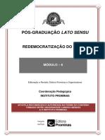Md 5 - Redemocratização Do Brasil