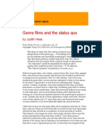 Genre films and the status quo.odt