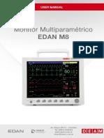 Deam Edan M8 Monitor - User Manual