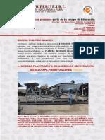 Modelo de Plantas Moviles Athegsur Peru