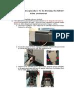 instruction uv-vis spectrometer