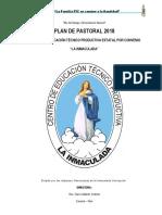 Plan Pastoral 2018_ CETPRO LI 26-02-2018