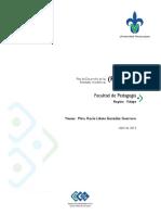 Plan de Desarrollo de Las Entidades Academicas PLADEA 2014 2017