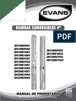 Catalogo de Bombas Evans Sd4