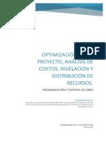 Analisis de costos, recursos y ruta critica de un proyecto
