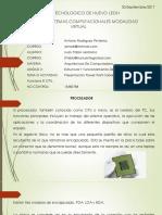 Presentacion Power Point _ Unidad 2 Arquitectura de Computadora