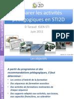 Preparer Des Sequences STI2D Première