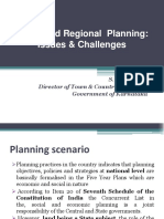 Urban regional planning Issues challenges