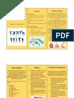 a4 brochure project