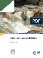 Diccionario Geomorfológico