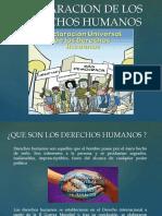 Declaracion de Los Derechos Humanos Paul