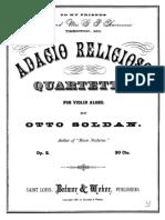SOLDAN OTTO Adagio Religioso