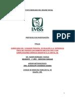 Protocolo IMSSSde Dx. Para El Cuidador
