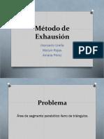 Presentación Exhausión-Segmento Parabólico.